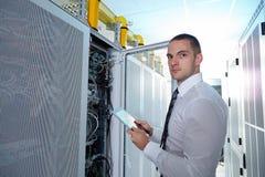Modern server room Stock Image
