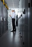 Modern server room Royalty Free Stock Images