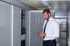 Modern server room Stock Photography
