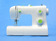 Modern Sewing machine Royalty Free Stock Photo