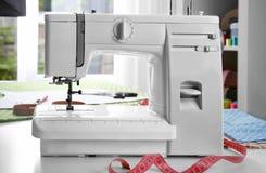 Modern sewing machine Royalty Free Stock Photo