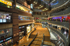Modern Shanghai shopping mall Stock Photography