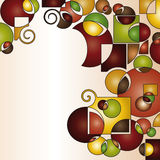 modern shapes background Royalty Free Stock Images