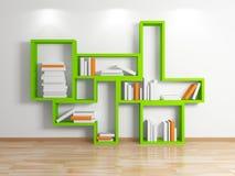 Modern shelf. Stock Photography