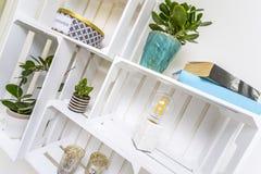 Modern shelf Stock Photography