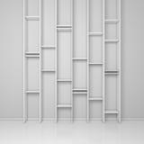 Modern shelves Stock Photos