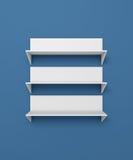 Modern shelves Royalty Free Stock Photo