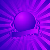 Modern shield purple Royalty Free Stock Photos