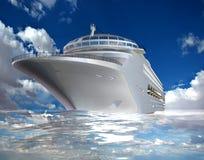 The modern ship Stock Photos