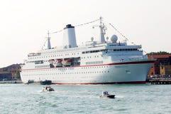 Modern ship for cruising Stock Photos