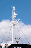 Modern ship mast Stock Photo