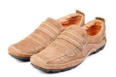 Modern shoe isolated ower white. Background stock photo