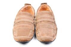 Modern shoe isolated ower white. Background stock image