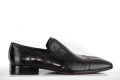 Modern shoes on the white background Stock Photos