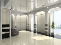 Modern shop Interior Royalty Free Stock Image