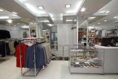 Modern shop interior Stock Images