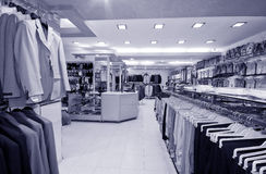 Modern shop interior Stock Photography