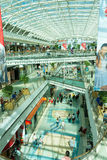 Modern shoping mall, Lisbon, Portugal Royalty Free Stock Photography