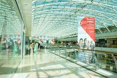 Modern shoping mall, Lisbon, Portugal Stock Photos