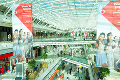 Modern shoping mall, Lisbon, Portugal Stock Images