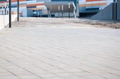 Modern shopping center entrance Stock Photos