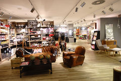 Modern shopping center in Paris Royalty Free Stock Photos