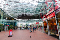 Modern shopping center Spazio in Zoetermeer, Netherlands Royalty Free Stock Photos