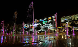 Modern shopping and entertainment center in Beer Sheva Royalty Free Stock Image