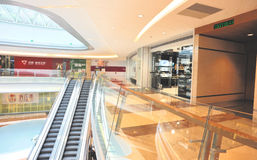 Modern shopping mall Stock Images