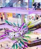 Modern shopping mall, Kiev, Ukraine Royalty Free Stock Image