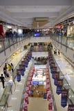 Modern shopping mall, New Zhongguan Gate, Beijing Stock Images