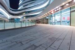 The modern shopping malls Stock Photos