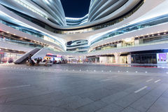 The modern shopping malls Royalty Free Stock Image