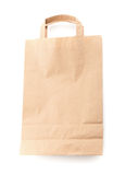 Modern shopping paper bag Stock Photos
