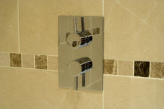 Modern shower Stock Images