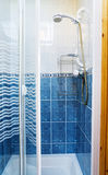 Modern shower cabin for homes and hotels Royalty Free Stock Images