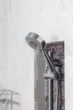 Modern Shower head in bathroom Stock Image