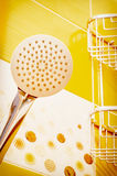 Modern shower head Royalty Free Stock Photos