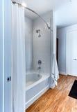 Modern shower at hotel resort Stock Image