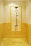 Modern shower room Royalty Free Stock Photo