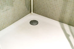 Modern shower tray Stock Photo