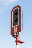 Modern signal pole Royalty Free Stock Photography