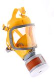 Modern silicone rubber gas mask Royalty Free Stock Photography