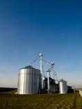 Modern silos Stock Photo