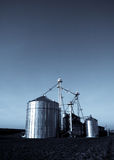 Modern silos Stock Images
