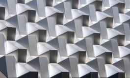 Modern silver facade Stock Images