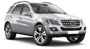 Free Modern Silver Suv Car Royalty Free Stock Photos - 30455038