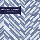 Modern simple geometric fabric texture with repeating parquet looking herringbone pattern - vector seamless pattern. Royalty Free Stock Images
