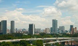 Modern Singapore Stock Afbeelding