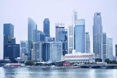 Modern Singapore Royalty Free Stock Photos